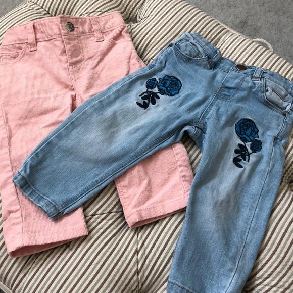 244a916b84f Baby girl pants Zara   Gap. M 5b6f60d125457a6c0b2654b2